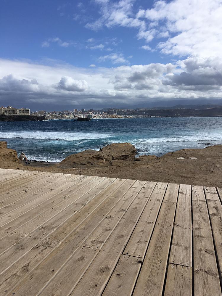 Figura 30 y  31. El Confital, Gran Canaria