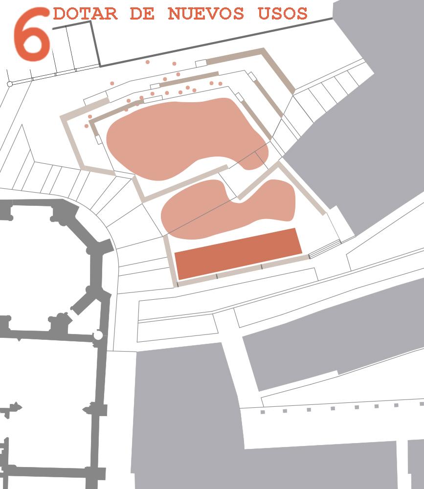 Figura10, 11 y 12: Uso como espacio de conciertos, uso como espacio de mercado semanal y uso para recreación de mercado tradicional (puntualmente)