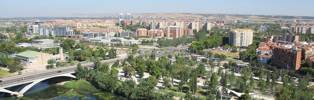 Figura 4. Vista del barrio del ACTUR de la ciudad de Zaragoza. (Fuente: Atalaya)