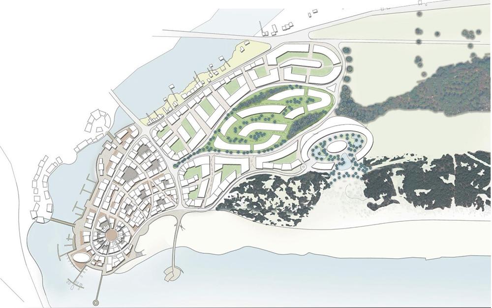 Figura 10. Masterplan de Porto Milena.
