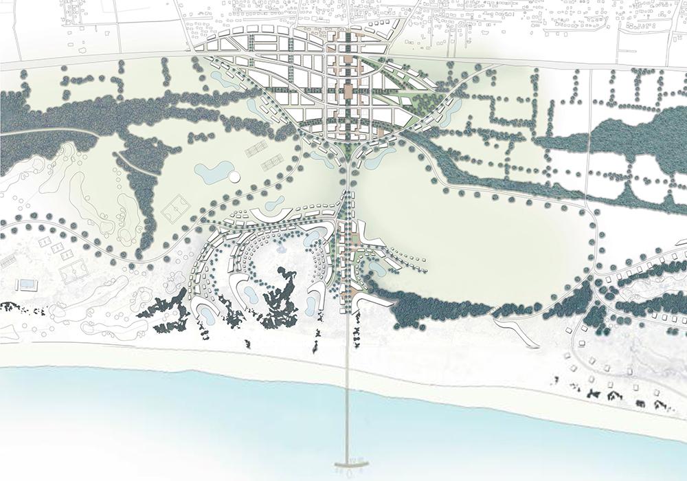 Figura 17. Masterplan de Velika Plaza.