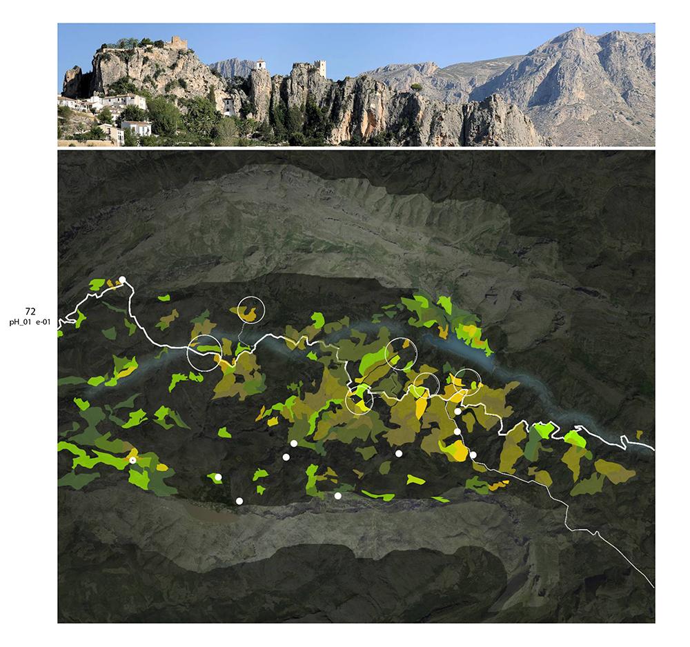 Figura 12. Análisis y propuesta Unidades Protección del Paisaje. Material producido por el equipo 3 del pH00, 2006.