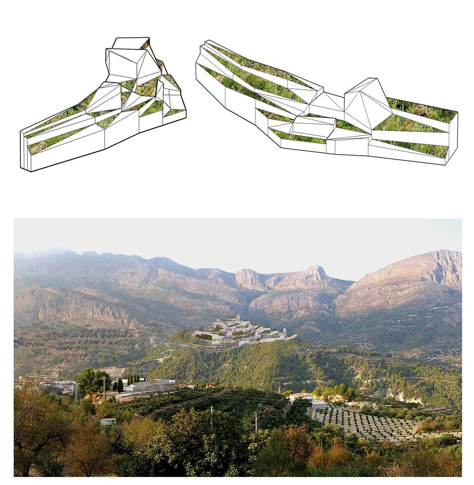 Figura 17. Nuevo pueblo. Material producido por el equipo 5 del pH00 ,2006