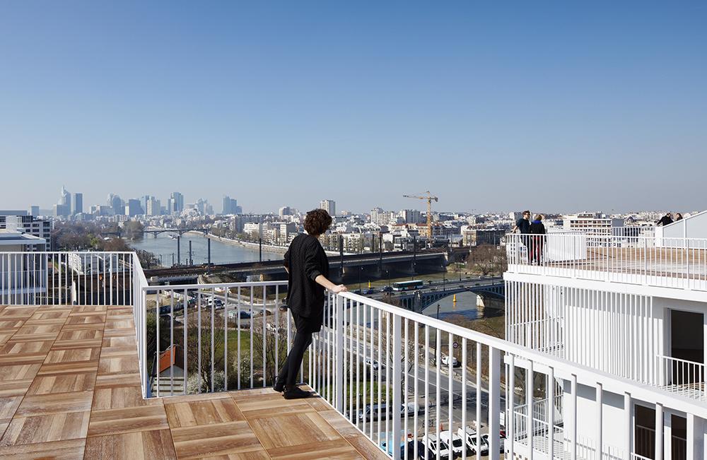Figura 6. Vistas desde la cubierta. ©Takuji Shimmura.