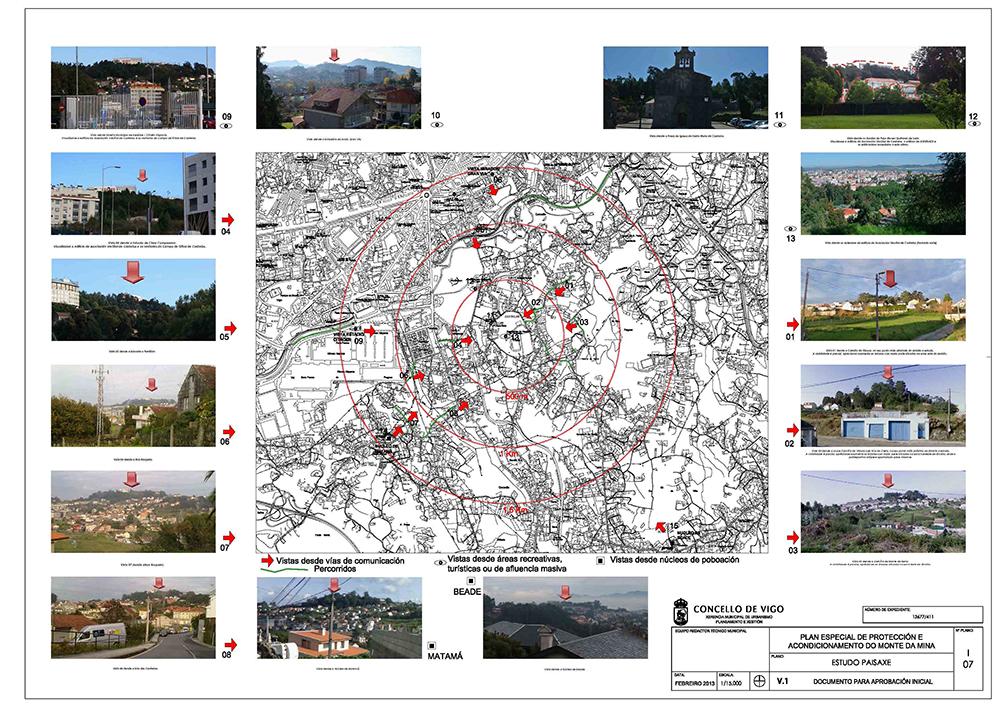 Figura 3. Plano de estudio de paisaje a escala lejana, de Plan Especial.