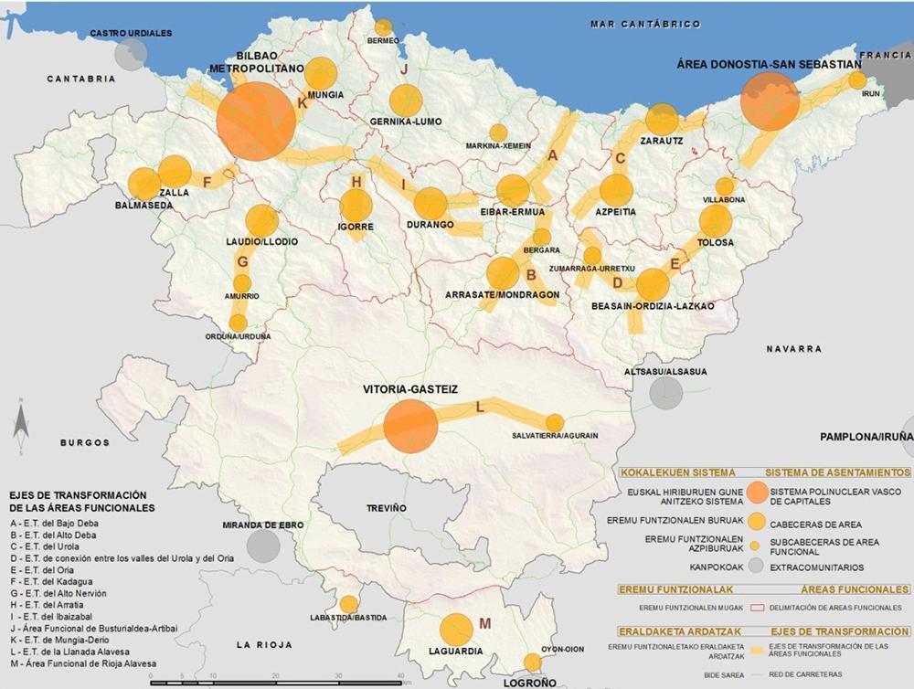 Figura 6. Mapa del Sistema Urbano