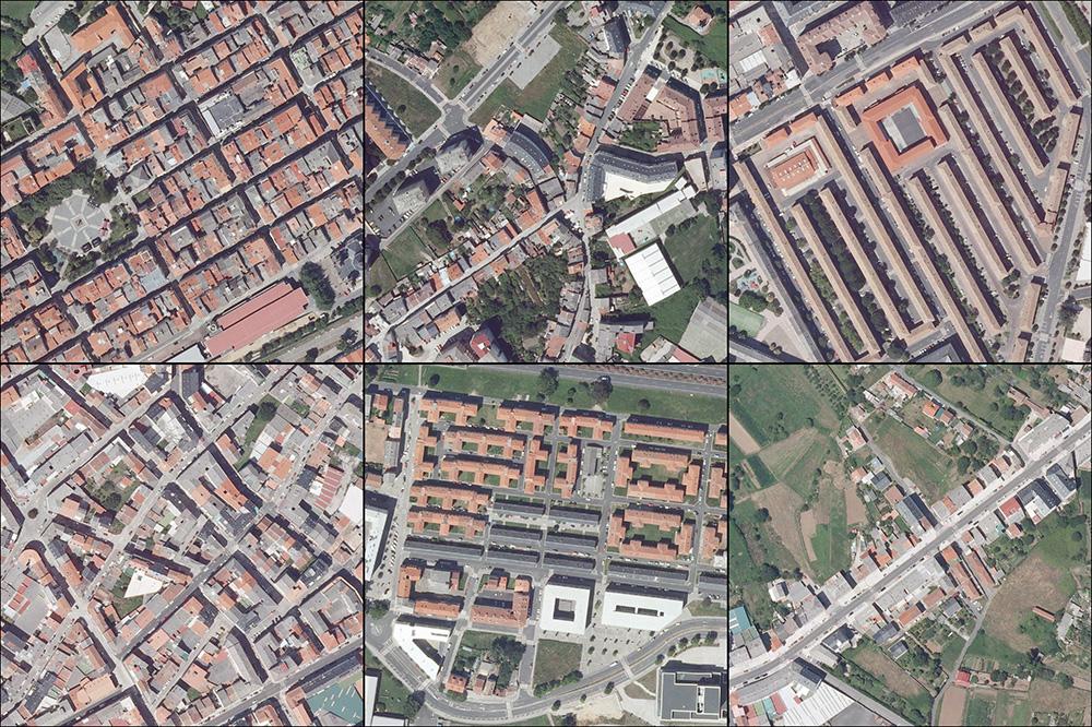 Figura 4. Tramas urbanas