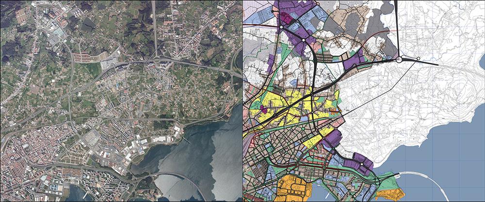 Figura 8. Agregado Urbano Ferrol-Narón